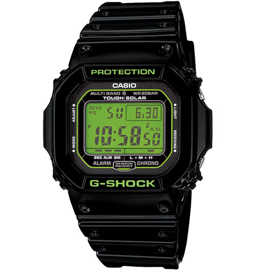 Casio G-shock Atomic Solar Watch GWM5610B-1 G-Shock