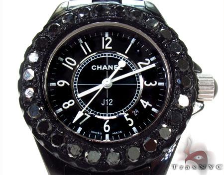 Chanel Black Diamond J12 Watch Special Watches