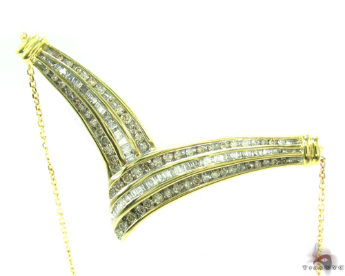 Channel Diamond Necklace 34695 Diamond