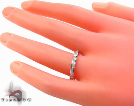 Channel Diamond Ring 32680 Wedding
