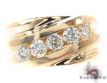 Channel Diamond Ring 33333 Stone