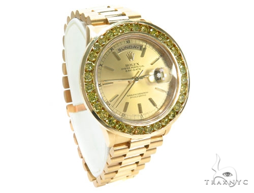 Rolex Day-Date I President Yellow Gold 218238 Diamond Rolex Watch Collection