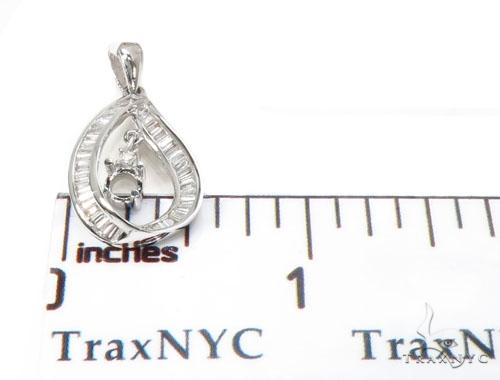 Channel Diamond Semi Mount Pendant 40140 Stone
