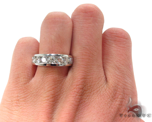 Channel Diamond Wedding Ring 34094 Style