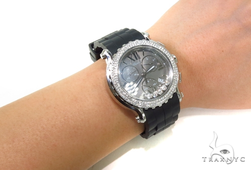 Chopard Happy Sport Black Dial Chronograph Watch 288499-3011 Special Watches