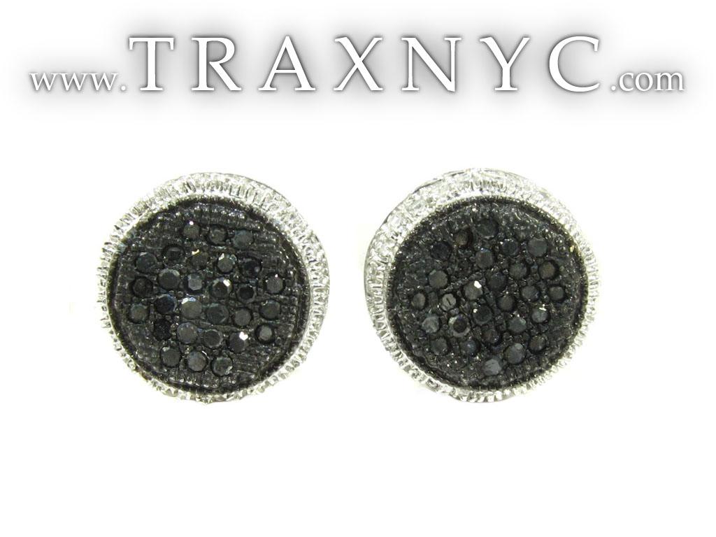 circle cushion earrings 26058 mens earring