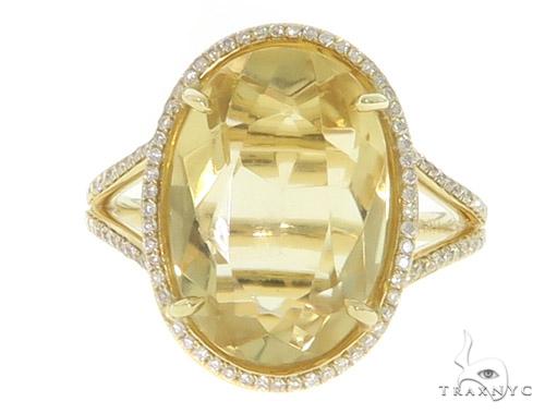Citrine Diamond Anniversary/Fashion Ring 49444 Anniversary/Fashion
