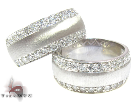 wedding band set for women
