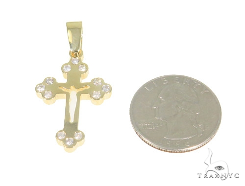 Bezel Diamond Cross 44312 Diamond