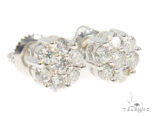 Cluster Diamond Earrings 44333 Style