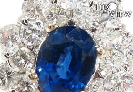 Cornflower Blue Sapphire Set Anniversary/Fashion