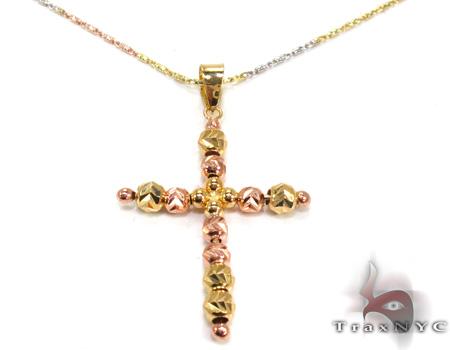 Ladies Cross Pendant 21559 ゴールドクロス