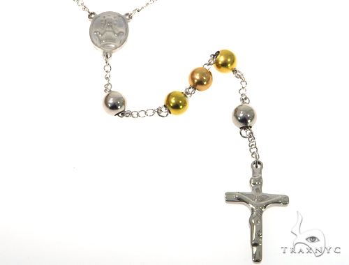 Cross Stainless Steel Rosary Stainless Steel