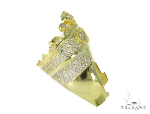 Crown Silver Ring 49916 Metal