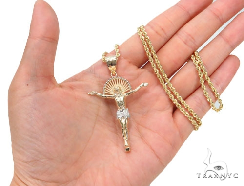 Halo Crucifix Chain Set 44788 Style