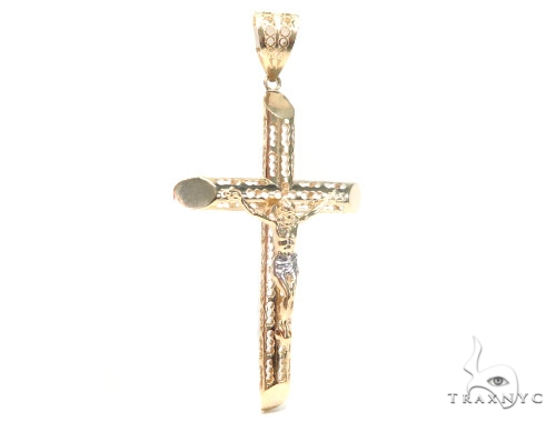 Crucifix Cross 44796 Gold