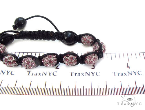 Crystal Shambala Rope Bracelet 37127 Gold