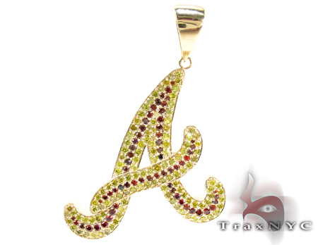 Custom a pendant mens diamond pendant yellow gold 10k audiocablefo