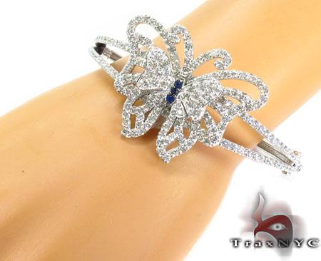Custom Butterfly Bracelet Diamond