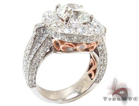 Custom Diamond Excellence Ring Engagement