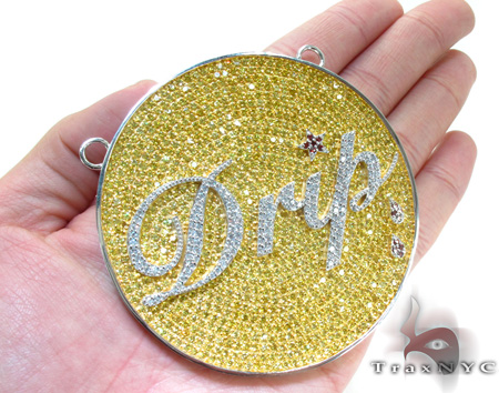 Custom Jewelry - Drip Pendant Metal