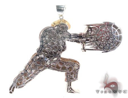 Custom Jewelry - Street Fighter Ken Metal