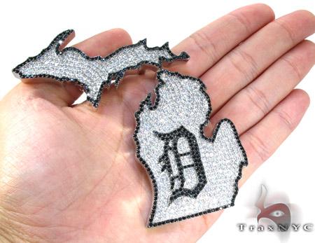 Custom Jewelry - MA Pendant Metal