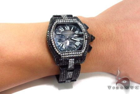 Custom Jewelry - New Cartier Roadster XL W62020X6