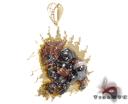 Custom Jewelry - Street Fighter Blanka Metal