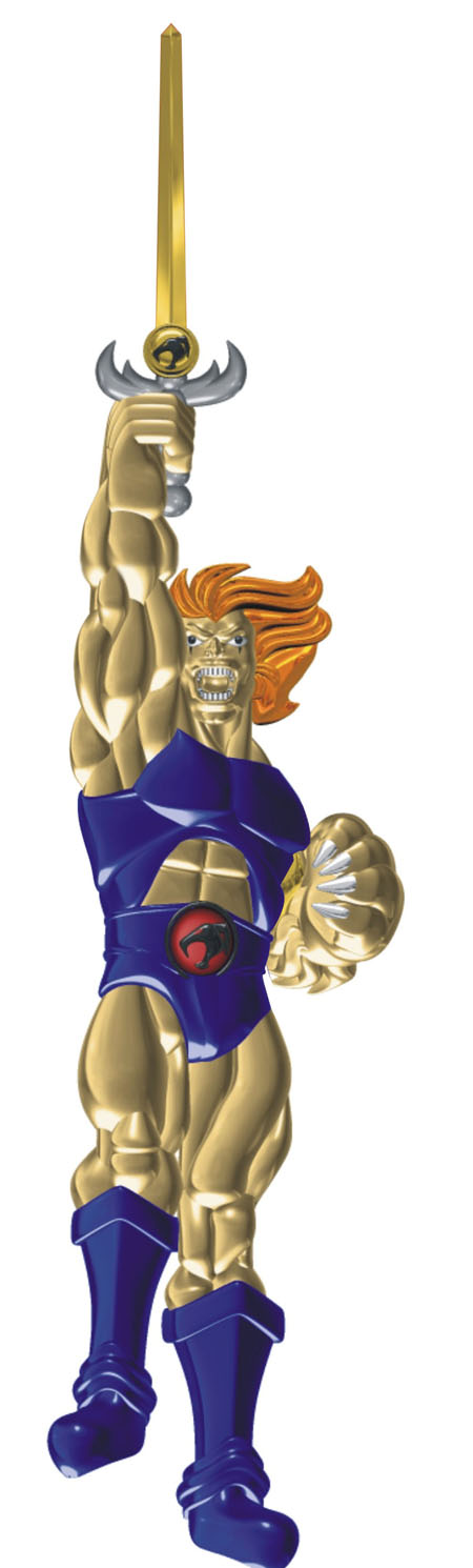 Custom Jewelry - ThunderCats Lion-O Metal