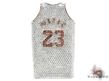 Custom Pendant - Diamond Jordan Pendant