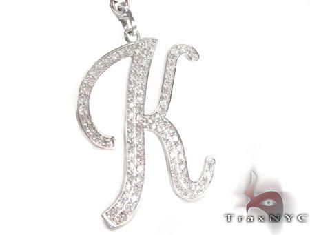 Custom K Initial Rosary Chain Rosary