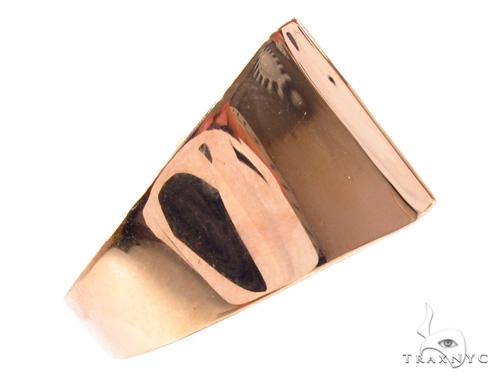 Custom L Initial Enamel Ring Metal