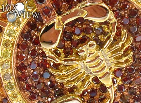 Custom Zodiac Pendant Metal