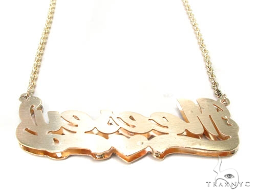 Custom Jewlery - Name Necklace Gold