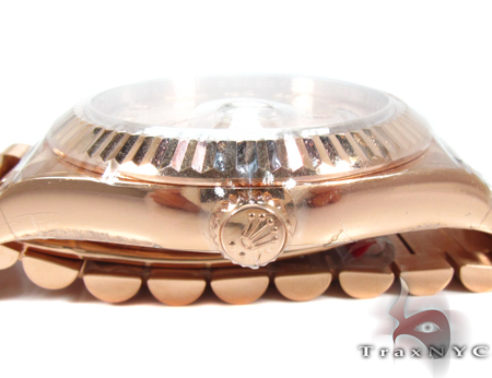 Rolex Day-Date President Rose Gold 218235 Diamond Rolex Watch Collection