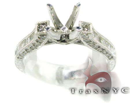 Designer Semi Mount Ring Engagement