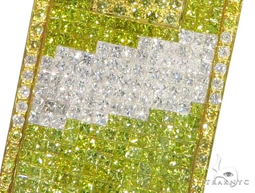 Diagonal Diamond Dog Tag 45371 Style