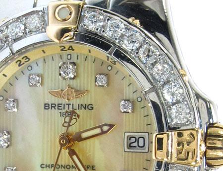 Diamond Breitling Windrider Starliner Ladies Watch B71340 Breitling