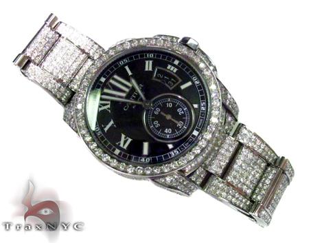 Diamond Calibre De Cartier Watch Cartier