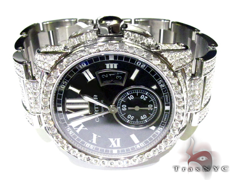 Diamond Calibre De Cartier Watch Cartier