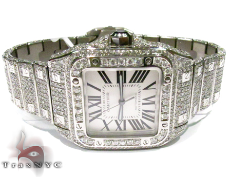 Diamond Cartier Watch Cartier