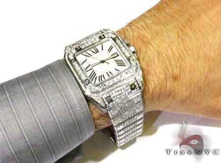 Diamond Cartier Watch Cartier