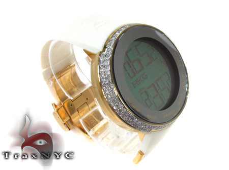 Diamond Gucci Grammy Awards Special Edition Watch White Gucci