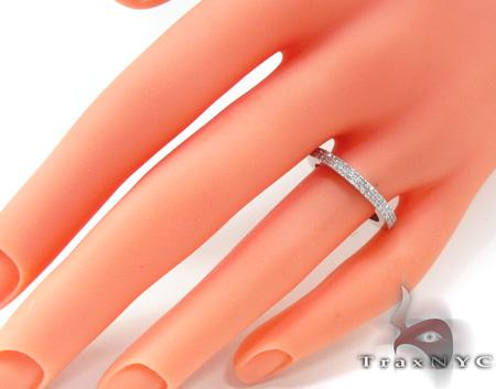 2 Row Diamond Ring 20443 Wedding