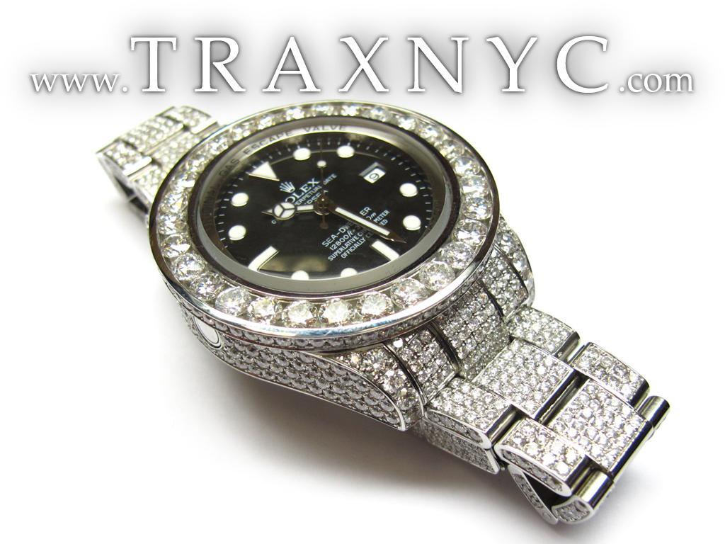 Diamond-Rolex-Sea-Dweller-Black-Index-Dial-Watch-27198-Rolex-Watch jpgBlack Diamond Rolex Watches