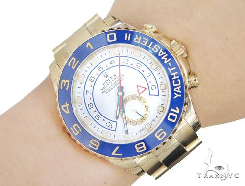Diamond Rolex Yacht-Master II Watch 42354 Diamond Rolex Watch Collection