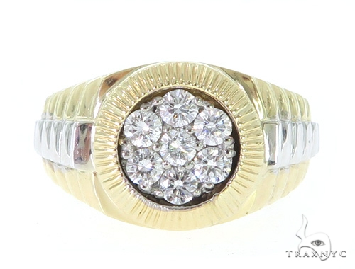Diamond Timepiece Ring 31577 Stone