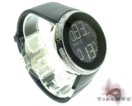 Digital Gucci Diamond Watch YA114202 Gucci