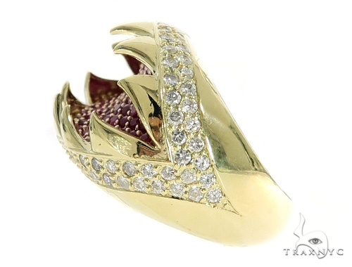 Dorado Diamond Ruby Ring 49771 Stone